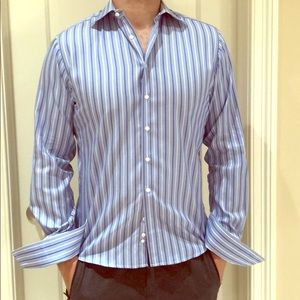 Men's shirt Thomas pink size 16